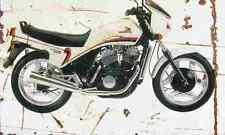 Honda VT500E 1983 Aged Vintage SIGN A4 Retro