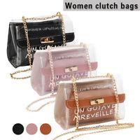 Nouveau sac à main d'épaule sac à main transparent transparent sac à main PVC BR