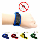 Anti Mosquito Bug Insect Repellent Bracelet Wrist Band & 4pcs Repellent Refills