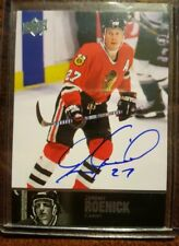 2013-14 Ultimate Collection Jeremy Roenick '97 Legends Auto #AL-84  Blackhawks
