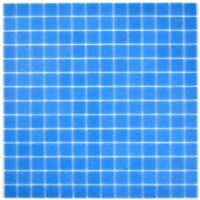 Glasmosaik mit Spots blau Fliese Wand Boden Fliesenspiegel WB200-A15-N|1Matte