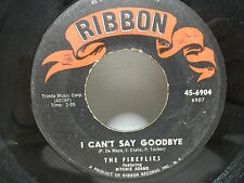 HEAR The Fireflies What Did I Do Wrong / I Can't Say Goodbye 45rpm Ritchie Adams