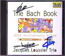 Jacques LOUSSIER Signiert THE BACH BOOK Jesu, Joy of Man's Desiring Gavotte CD