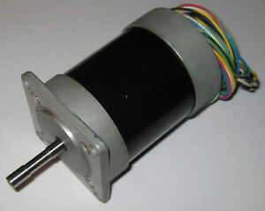 Portescap Stepper Motor  - 3.36 V - 1.68 Ohm - 80 mm L - PJT80 - 6mm Shaft Dia.