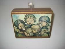 Vintage M.I.M Lador Inc. Hummel Design Music Box ~ Theme Song from Love Story