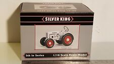 Silver King 1/16 diecast metal farm tractor replica collectible by SpecCast