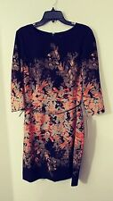 """NEW Alex Marie Bernadette """"Then And Now"""" Dress, $129, Career, Size 14, Floral"""