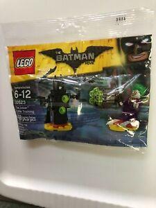 LEGO DC Comics Joker Battle Training minifigure Batman Movie 2017 SEALED polybag