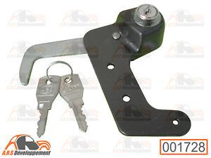 VERROU à clé pour fermeture de capot (HOOD LOCK) de Citroen 2CV  -1728-