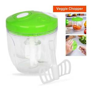 Pulling Food Powerful Manual Chopper Hand Vegetable Shredder Slicer Cutter