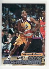Nicky Mccrimmon Los Angeles Sparks Usc Autographed Basketball Card