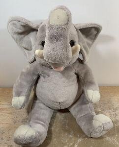 "Build a Bear Elephant Gray Animal Zoo BAB 16"" Tall Plush RETIRED"