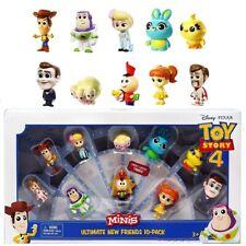 Disney Pixar Toy Story MINIS - ULTIMATE NEW FRIENDS 10 PACK Buzz Woody Bo Peep..