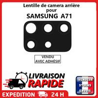 Lentille arrière appareil photo SAMSUNG GALAXY A71 A715F vitre Camera Lens