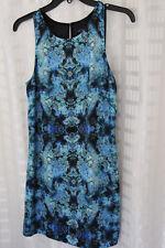 Forever New Blue Floral DRESS Size 8