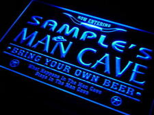 Name Personalized Man Cave Beer Bar Neon Light Sign