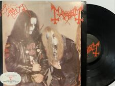 Morbid / Mayhem - A Tribute To The Black Emperors LP 1994 Land Of The Rising Sun
