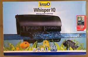 Tetra Whisper IQ 60 Gal Power Filter Convenience from top to bottom