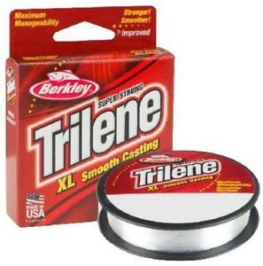 Berkley Trilene XL Fishing Line 300 Yards Clear 10 12 14 17 Lb Choice of Sizes