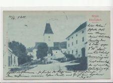 74655/91- Mondschein Ak Gruss aus Eberndorf im Bezirk Völkermarkt Kärnten 1901