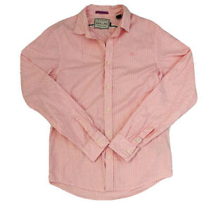 "Scotch & Soda Men's Pink ""Wake Up Call' Button Down Oxford Shirt Size Small"