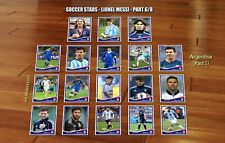 Messi 35 cards Argentina start career soccer football stars rookie Lionel Messi