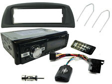 FIAT PUNTO 99-05: Car Stereo Head Unit Radio + Steering Controls + Bluetooth AUX