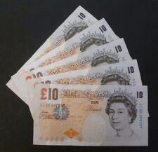 """Lowther Darwin £10 Banknote (2000) LL Replacement B389 """"And The Company"""" aVF"""