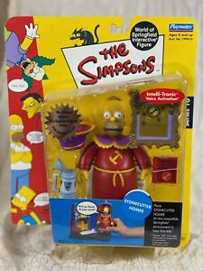 The Simpsons Stonecutter Homer Series 10 World of Springfield by Playmates NIB