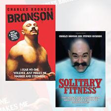Charles Bronson Collection 2 Books Set, Solitary Fitness, Bronson, Brand New PB