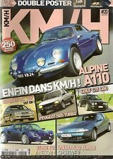 KM/H 20 ALPINE A110 1600 S ZX 16V ELISE S2 505 TURBO GOLF GTI G60 A112 ABARTH