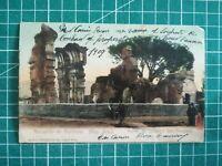 sf004 CPA Circa 1909 Argentine - Mendoza - Ruinas del Convenio San Francisco