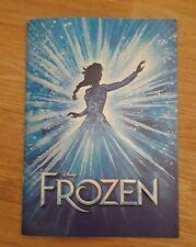 More details for disney's frozen the musical london west end theatre souvenir programme brochure