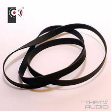 Se adapta a Sanyo-Cinturón de tocadiscos de reemplazo G1002 G1005 G2002 & G2003-que es Audio