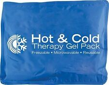 "Roscoe Hot & Cold Reusable Gel Pack (11"" x 14""), Reusable, Microwaveable Hot/Col"