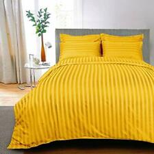 250 TC Cotton Double Bedsheet with 2 Pillow Covers - Stripes,