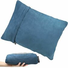 Compressible Backpacking Foam Pillow for Compact Travel Camping Hiking Sleeping