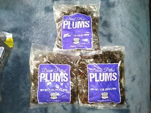 USDA Dry Pitted Plums (3)