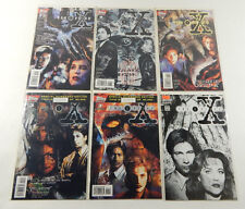 The X-Files #1 2 3 7 8 12 Comic Books (Topps) NM ^ #1 Ashcan Edition