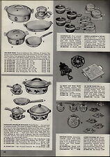 1955 PAPER AD Dru Iron Cookware Husqvarna Enameled Iron Ware Pots Pans
