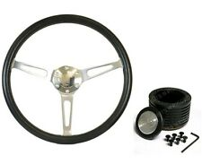 "Holden HT,HG,HK SAAS Classic Poly Steering Wheel 380mm 15""  & Boss Kit Combo ADR"