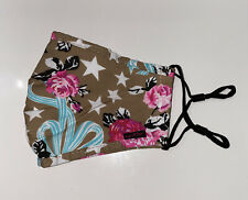 Floral Face Mask By Betsey Johnson Luv Betsey New Adjustable Ear Straps New Wow
