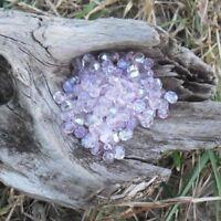 150 Perles de bohème facette 5 mm Tchèque coloris Rosaline AB