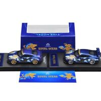 1/64 Time Model Nissan Skyline GTR R35 Royal Ocean Paint Diecast Car