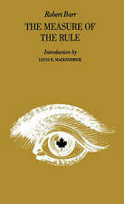 Measure of the Rule (Literature of Canada; poetry and prose in-ExLibrary