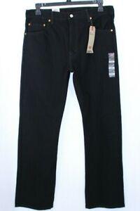 Levis 517 Men's Bootcut Black Jeans 36X32