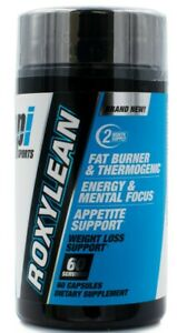 BPI RoxyLean Extreme Thermogenic Fat Burner for Rapid Diet, Weight Loss, 60 caps