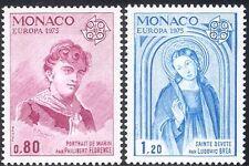 MONACO 1975 EUROPA/ST dedicare/Marinaio/Artisti/arte/DIPINTI/PEOPLE 2 V Set (n43162)