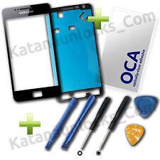 Kit Completo Riparazione per Schermo Vetro Samsung Galaxy S2 I9100 Nero