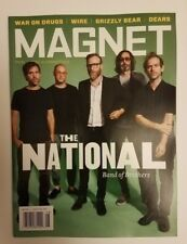 Magnet magazine The National cover intact War on Drugs Wire Grizzley Bear Dears